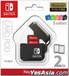 Nintendo Switch CARD POD (黑色) (日本版)