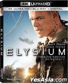 Elysium (2013) (4K Ultra HD + Blu-ray) (Taiwan Version)