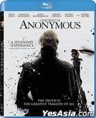 Anonymous (2011) (Blu-ray) (Hong Kong Version)