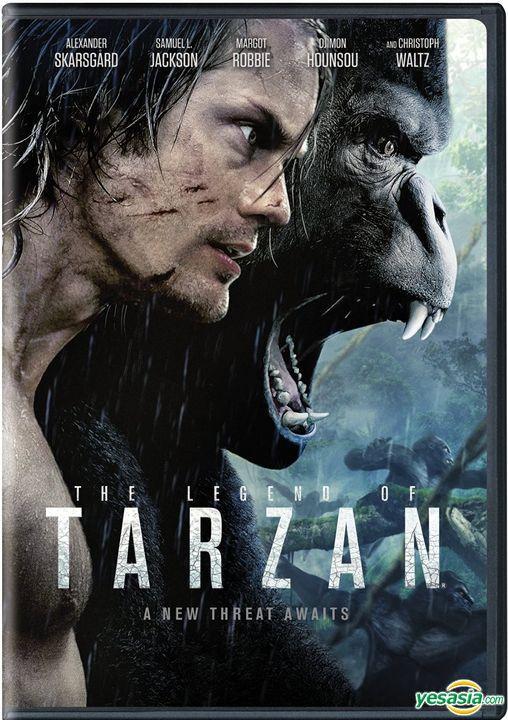 Yesasia The Legend Of Tarzan 2016 Dvd Us Version Dvd Alexander Skarsgard Margot Robbie Warner Home Video Us Western World Movies Videos Free Shipping North America Site