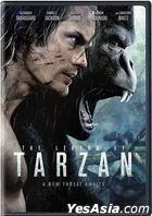 The Legend of Tarzan (2016) (DVD) (US Version)