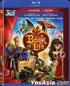 The Book Of Life (2014) (Blu-ray) (2D + 3D) (Hong Kong Version)