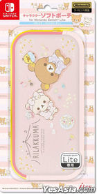 Nintendo Switch Lite Character Soft Pouch Rilakkuma (Pajamas Party) (Japan Version)