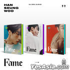 Victon : Han Seung Woo Mini Album Vol. 1 - Fame (HAN + SEUNG + WOO Version) + 3 Posters in Tube