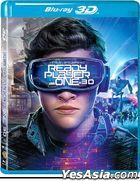 Ready Player One (2018) (Blu-ray) (2D + 3D) (Hong Kong Version)