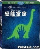 The Good Dinosaur (2015) (Blu-ray) (2D + 3D) (Steelbook) (Taiwan Version)