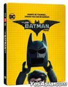 The LEGO Batman Movie (2D + 3D Blu-ray) (2-Disc) (Steelbook Limited Edition) (Korea Version)