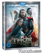 Thor : The Dark World (2013) (Blu-ray) ( 3D ) (Korea Version)