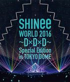 SHINee WORLD 2016 - D x D x D - Special Edition in TOKYO [BLU-RAY] (Normal Edition) (Japan Version)