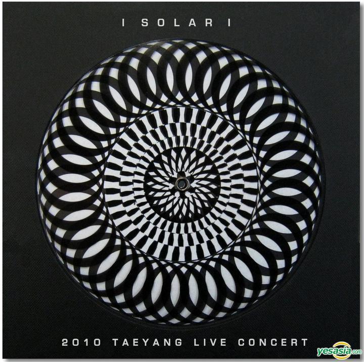 YESASIA: Tae Yang - 2010 Tae Yang Solar Concert (2-DVD + CD + Poster in Tube) (First Press Limited Edition) (Korea Version) DVD,MALE STARS,GROUPS - Tae Yang (Big Bang), YG Entertainment -