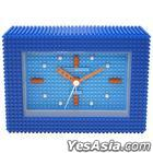 nanoblock : Alarm Clock Ver.2 (Blue)