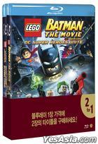 LEGO: DC Comics Super Heroes: Justice League vs. Bizarro League &  Lego Batman: The Movie DC Super Heroes Unite (Blu-ray) (2-Disc) (Double Pack) (Limited Edition) (Korea Version)