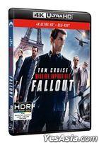 Mission: Impossible - Fallout (2018) (4K Ultra HD + Blu-ray) (Hong Kong Version)