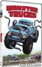 Monster Trucks (2016) (DVD) (Hong Kong Version)
