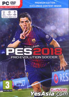 Pro Evolution Soccer 2018 (Chinese / English Edition) (DVD Version)