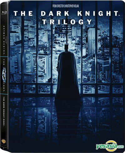Yesasia The Dark Knight Trilogy 5 Blu Rays Jumbo Steelbook Hong Kong Version Blu Ray Christian Bale Tom Hardy Warner Home Video Hk Western World Movies Videos Free Shipping