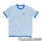 iKON Kony's Summertime Official Goods - Stripe Blue T-Shirt (Large)