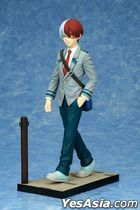 Connect Collection : My Hero Academia Shoto Todoroki School Uniform Ver.  1:8 PVC Pre-painted PVC Figure