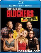 Blockers (2018) (Blu-ray + DVD + Digital) (US Version)
