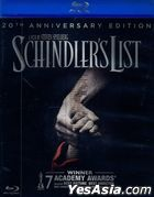 Schindler's List (1993) (Blu-ray + DVD) (Taiwan Version)