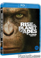 Rise of the Planet of the Apes (Blu-ray) (First Press Limited Edition) (Korea Version)