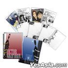 Yuri on Ice - A5 Ring Note Book (Red & Blue)