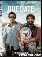 Due Date (2010) (DVD) (Hong Kong Version)