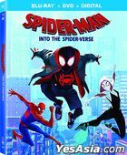 Spider-Man: Into the Spider-Verse (2018) (Blu-ray + DVD + Digital) (US Version)