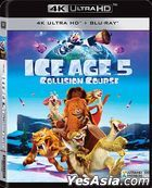 Ice Age: Collision Course (2016) (4K Ultra HD + Blu-ray) (Hong Kong Version)