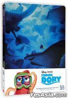 Finding Dory (2016) (2D + 3D Blu-ray + Bonus Disc) (Steelbook) (Hong Kong Version)