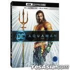 Aquaman (4K Ultra HD + Blu-ray) (Korea Version)