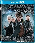 Fantastic Beasts: The Crimes of Grindelwald (2018) (Blu-ray) (2D + 3D) (Hong Kong Version)