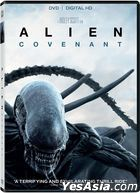 Alien: Covenant (2017) (DVD + Digital HD) (US Version)