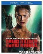 Tomb Raider (2018) (Blu-ray + DVD + Digital) (US Version)