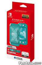Nintendo Switch Lite Tough Protecter (Clear x Turquoise) (Japan Version)