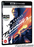 Days of Thunder (4K Ultra HD + Blu-ray) (Remastered Limited Edition) (Korea Version)