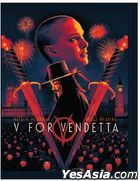 V For Vendetta (2005) (4K Ultra HD + Blu-ray) (Steelbook) (Taiwan Version)
