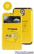 Samsung Galaxy Note 3 TTOMA View Flip Case (Angel Skyblue)