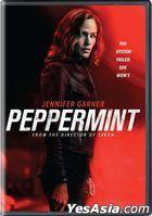 Peppermint (2018) (DVD) (US Version)
