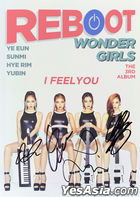 Wonder Girls Vol. 3 - Reboot (All Members Autographed CD) (Limited Edition)