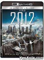2012 (2009) (4K Ultra HK + Blu-ray) (Hong Kong Version)