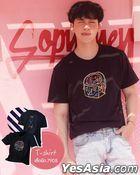 Sobyohey - T-Shirt (Black) (Size XL)