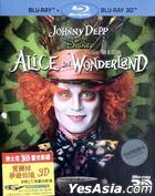 Alice In Wonderland 3D (2010) (Blu-ray) (Hong Kong Version)