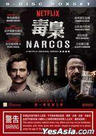 Narcos (DVD) (Season 1-3) (Hong Kong Version)
