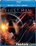 First Man (2018) (Blu-ray + DVD + Digital) (US Version)
