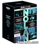 Christopher Nolan Collection (4K Ultra D Blu-ray) (21-Disc) (Outbox Limited Edition) (Korea Version)