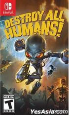 Destroy All Humans! (Asian Chinese / English Version)