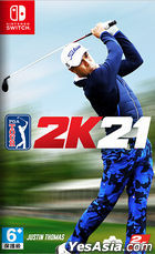 Golf PGA Tour 2K21 (Asian Chinese Version)