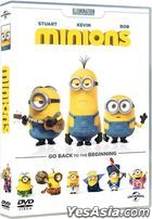 Minions (2015) (DVD) (Hong Kong Version)