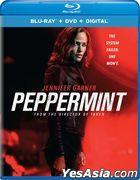 Peppermint (2018) (Blu-ray + DVD + Digital) (US Version)